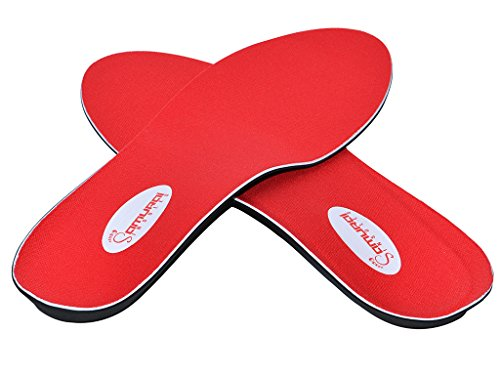 Samurai Insoles Instant Relief Orthotics for Flat Feet - Plantar Fasciitis Pain Relief Guaranteed, Arch Support Shoe Insert Insoles for Foot and Heel Pain M9-9.5/W11-11.5