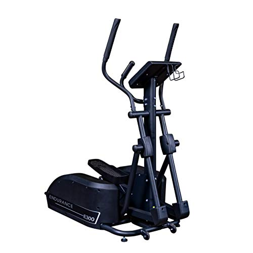Body-Solid E300 Endurance Elliptical Trainer for Cardio and Aerobic Training, Home and Commercial Gym Use