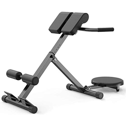 Roman Chair Weight Bench,660 lb Load Folding Roman Chair Back Hyper Extension Bench Waist T-wisting Machine Waist Lifter for Strengthening Abs 50 Degrees Adjustable,Shipping from USA