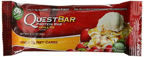 Quest Nutrition Protein Bar, Apple Pie, 2.12 Ounce (Pack of 12)