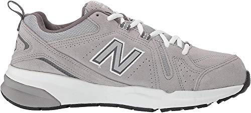 New Balance Men's 608 V5 Casual Comfort Cross Trainer, Grey Suede/Grey Suede, 9 M US