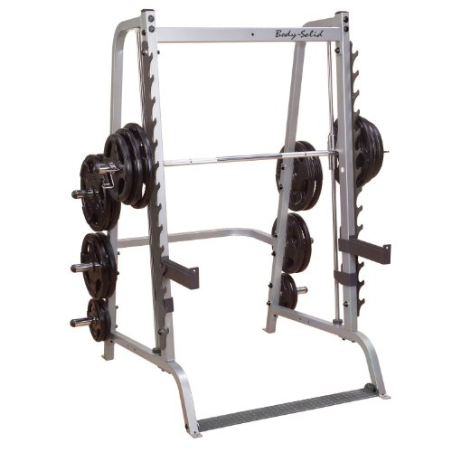 Body-Solid Series 7 GS348Q Smith Machine with Linear Bearings