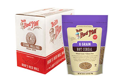 Bob's Red Mill Gluten Free 8 Grain Hot Cereal, 27-ounce (Pack of 4)