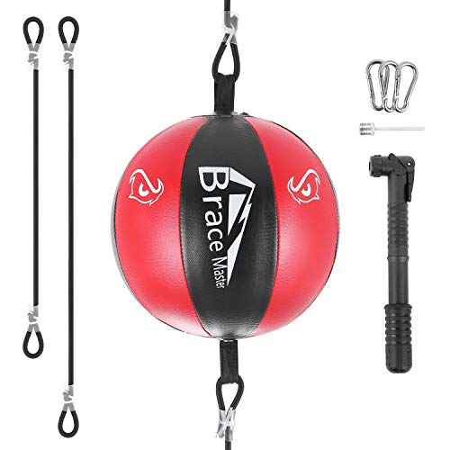Brace Master Air Double-End Punching Ball Speed Training Ball for Boxing MMA Speed Training Suit for Men & Women
