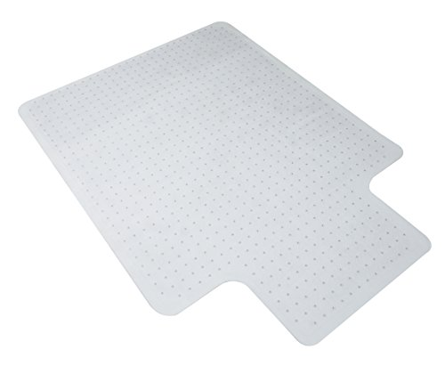 OFM Essentials Collection 36' x 48' Chair Mat with Lip for Carpet