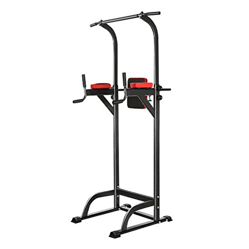 Oanon Full Body Power Tower Adjustable Power Tower Strength Power Tower Fitness Workout Station (Upgrade Version)