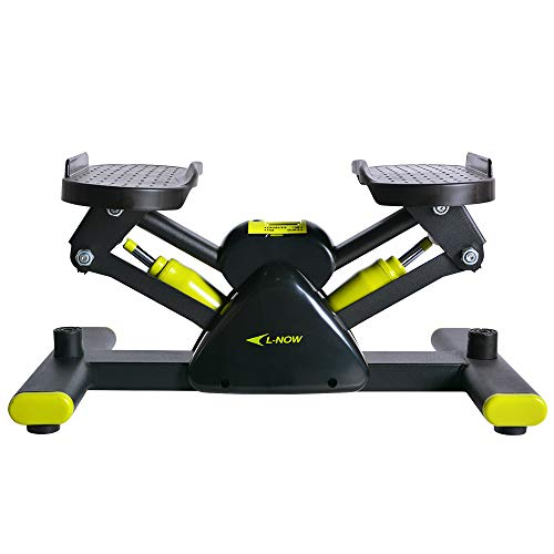 L NOW Adjustable Mini Stair Stepper Exercise Equipment Step Machine (S6)