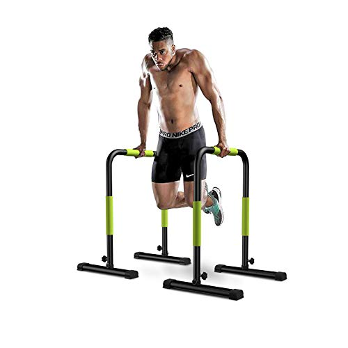 KFK Dip Bar Dip Stand Station Heavy Duty Ultimate Body Press Bar Parallel Bars for Home Workout