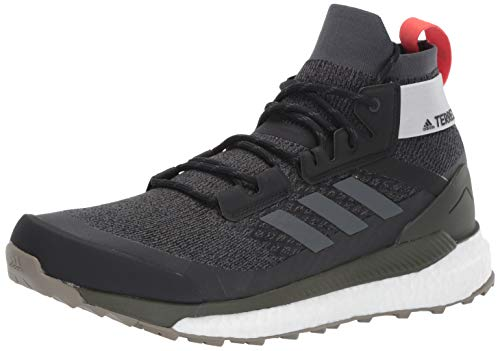 adidas outdoor Terrex Free Hiker Black/Grey Six/Night Cargo 10 D (M)