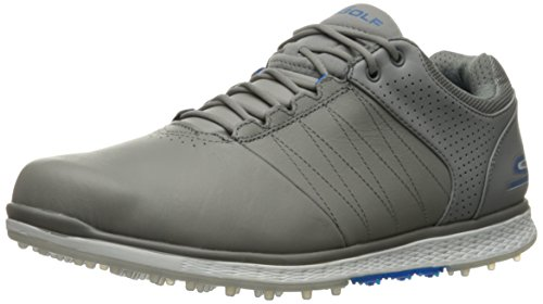 Skechers Performance Men's Go Golf Elite 2 Golf Shoe,Gray/Blue,13 M US