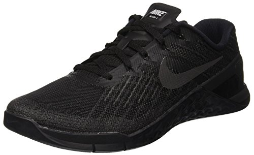 Nike Mens Metcon 2 Synthetic Trainers, Black/Black/Cool Grey/Volt, 12 D(M) US