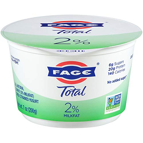 FAGE TOTAL, 2% Plain Greek Yogurt, 7 oz