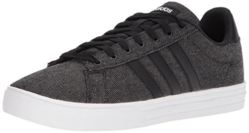 adidas Men's Daily 2.0 Sneaker, black/black/white, 10 M US
