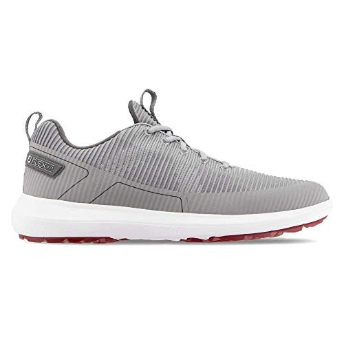 FootJoy Men's FJ Flex XP Golf Shoes, Grey, 11 M US