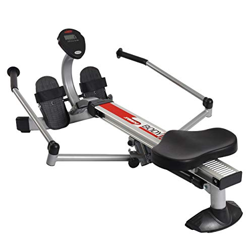 Stamina BodyTrac Glider 1050 Rowing Machine | Compact, Portable Rower | Smooth Hydraulic Resistance