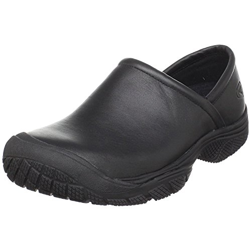 KEEN Utility Men's PTC Slip On 2 Low Height No Lace Chef Food Service Shoe