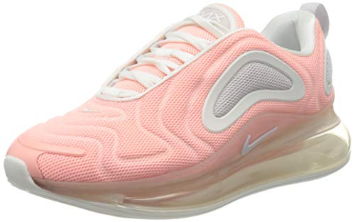 Nike Air Max 720 Womens Running Trainers AR9293 Sneakers Shoes (UK 4 US 6.5 EU 37.5, Bleached Coral Summit White 603)