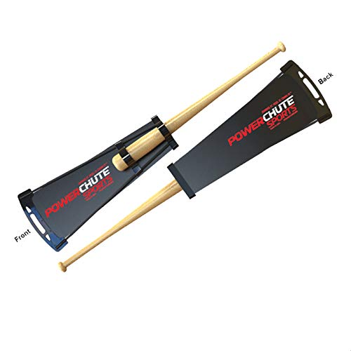 Powerchute Baseball/Softball Swing Trainer for Speed and Power. Resistance Chute Adds 10mph to Your Bat Speed in 60 Seconds. Created by Barry Larkin.