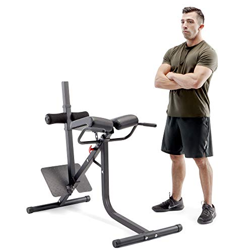 Marcy Pro JD-5481 Deluxe Steel Frame Hyper Extension Bench for Racks & Home Gyms