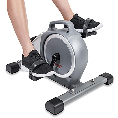 Sunny Health & Fitness Magnetic Mini Exercise Pedal Cycle - SF-B020026 Gray