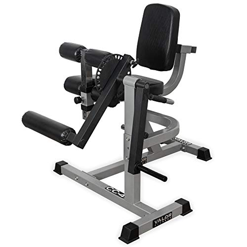 Valor Fitness CC-4 Adjustable Leg Curl/Extension Machine