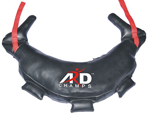 ARD-Champs Bulgarian Bag Genuine Leather Fitness, Crossfit, Wrestling, Judo, MMA, Sandbag (22 KG/ 48 Pounds)