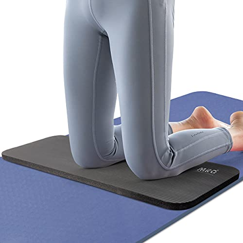 MRO Yoga Knee Pad Cushion –Premium Exercise Knee Pad - Eliminate Pain During Home Workout - Extra Padding & Support for Knees, Wrists, Elbows -Complements Your Yoga Mat 24''X10''X0.6''