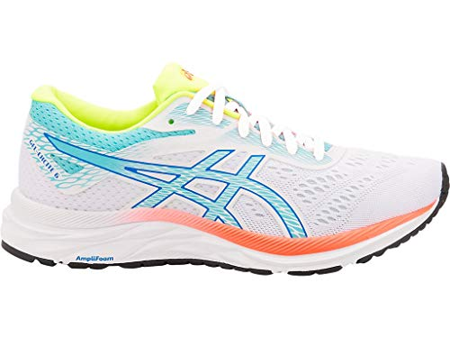 ASICS Women's Gel-Excite 6 SP Running Shoes, 6.5M, White/ICE Mint