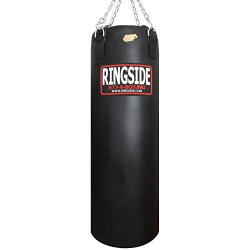 Ringside 100-pound Powerhide Boxing Punching Heavy Bag (Soft Filled) Black, 100 LBS