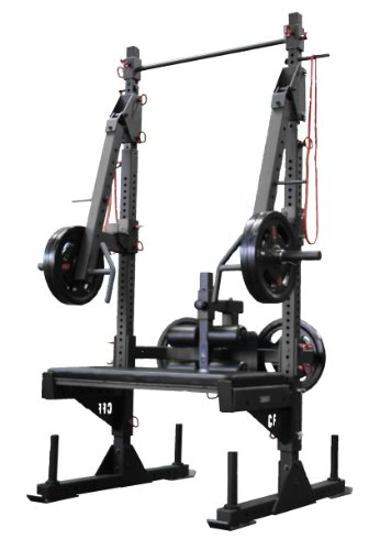 CFF Pro Series Half Rack - The Beast - Great for Cross Training, MMA, Boxing, Personal Training