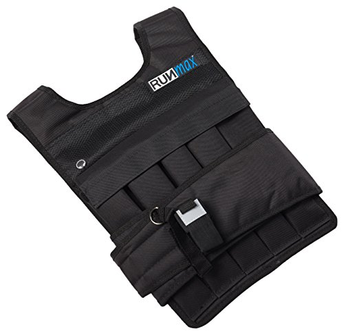 RUNFast RM_40 Pro Weighted Vest 12lbs.-60 lbs. (without Shoulder Pads, 40 lb)