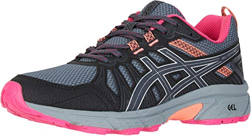 ASICS Women's Gel-Venture 7 (D) Shoes, 8W, Carrier Grey/Silver