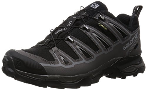 Salomon Men's X Ultra 2 GTX-M, Black/Autobahn/Pewter 8 D US