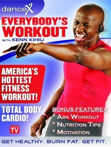 DanceX: Fun Total Body Cardio Fitness DVD - Everybody's Workout Home Exercise DVD with FREE Bonus Content - As Seen On TV - Dance to Lose Weight Workout DVD - Get Healthy Now - Safe for All Ages