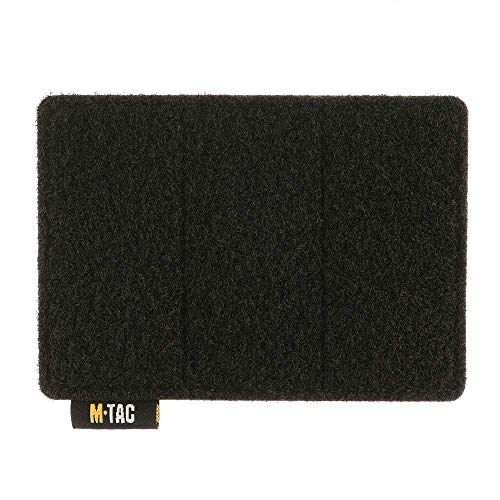 M-Tac Hook and Loop Tactical Morale Patches Board Molle Attachment (Black)