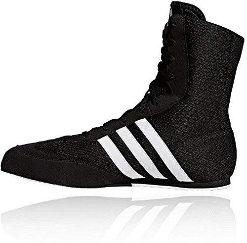 adidas Box Hog 2 Mens Boxing Trainer Shoe Boot Black/White - US 13