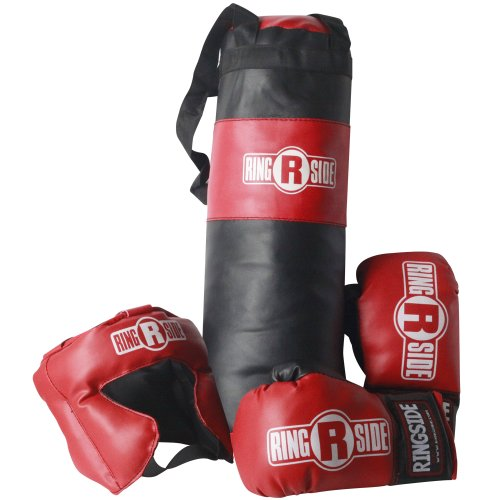 Ringside Kids Boxing Gift Set (2-5 Year Old), Black, 17' long x 5' diameter
