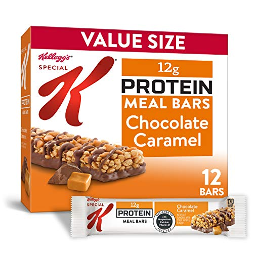 Kellogg's Special K Chocolate Caramel Protein Meal Bars - Office Lunch, Meal Replacement (12 Count)