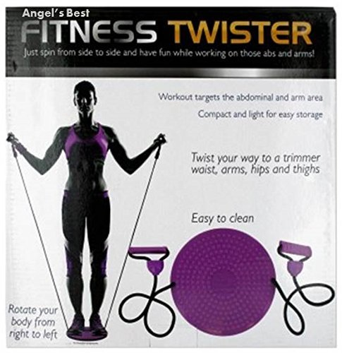 Angel's Best Fitness Twister with Handles - Trims Waist, Arms, Hips and Thighs