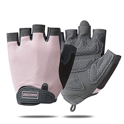 GORELOX Workout Gloves for Women Men, Weight Lifting Gloves, Fingerless Training Gloves with Lightweight for Fitness Exercise,Powerlifting,Gym,Crossfit,Cycling