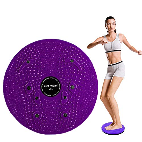 WSERE Twist Waist Twister Disc Board Wriggling Plate, Non-Slip Body Shaping Twisting Waist Twister Plate Exercise Machine Rotating Balance Board for Legs Waist Foot Ankle Body Training