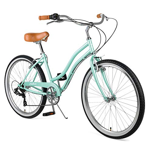 Retrospec Chatham Women's Beach Cruiser, 26'/7-speed, Seafoam