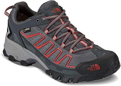 The North Face Mens Ultra 109 GTX Hiking Shoe Zinc Grey/Pompeian Red - 12 D(M) US