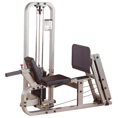 Body-Solid ProClubLine Leg Press Machine with 210-Pound Weight Stack (SLP500G2)