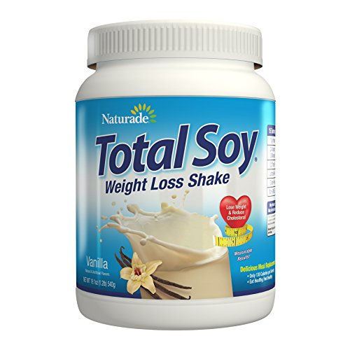 Naturade Total Soy Protein Powder and Meal Replacement Shakes For Weight Loss, Vanilla (15 Servings)