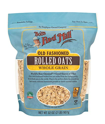 Bob's Red Mill Old Fashioned Regular Rolled Oats, 32 Oz