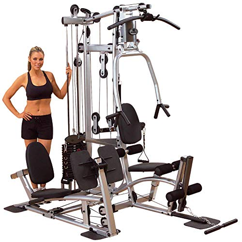 Body-Solid Powerline Home Gym Equipment with Leg Press (P2LPX)