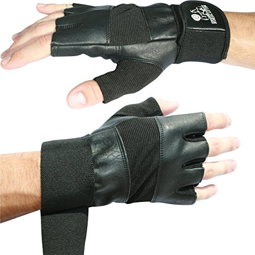 Nordic Lifting Weight Lifting Gloves with 12' Wrist Wraps Support for Gym Workout, Cross Training, Weightlifting, Fitness & Cross Training - The Best for Men & Women -Quality Gear - Small