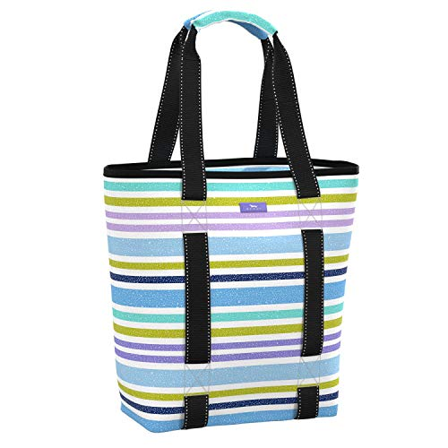 SCOUT Fit Kit Gym Tote Bag, Elastic Band Fits Yoga Mat or Towel, Water Resistant
