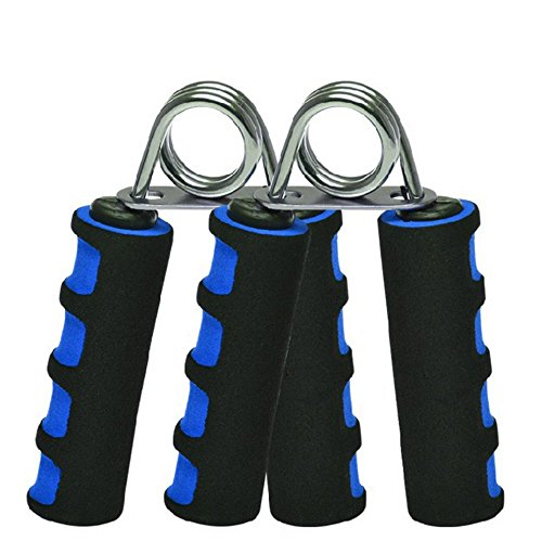 E-smartinlife Hand Grip Strengthener Set, Finger Gripper, Hand Grippers - Soft Foam Hand Exerciser for Quickly Increasing Wrist Forearm and Finger Strength, 2 Pack